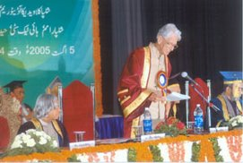 Description: Presidential Convocation Address at MANUU