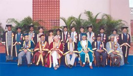 Description: MANUU First Annual Convocation