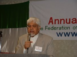 Description: Dr. Ghazi at FAAA Convention, 2005 at Chicago
