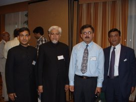 Description: Dr. Ghazi with few participants of FAAA Convention 2004